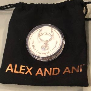 Brand New Silver Alex and Ani Ring